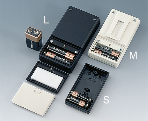 Battery compartments for internal power supplies
