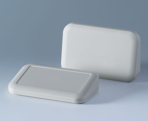 Desktop versions without/with recessed top for a membrane keypad or label