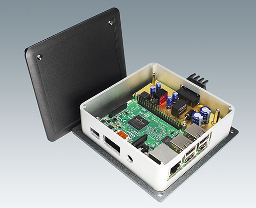 Individual room control panels (Raspberry Pi)