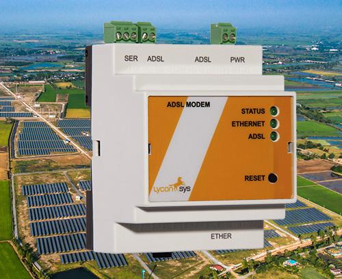 Industrial VDSL2/ADSL2 modems