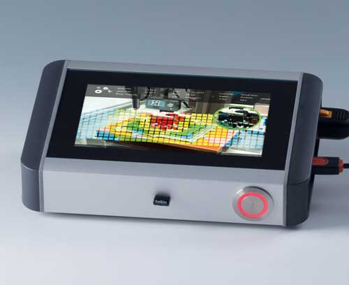 SMART-TERMINAL enclosure with touch screen