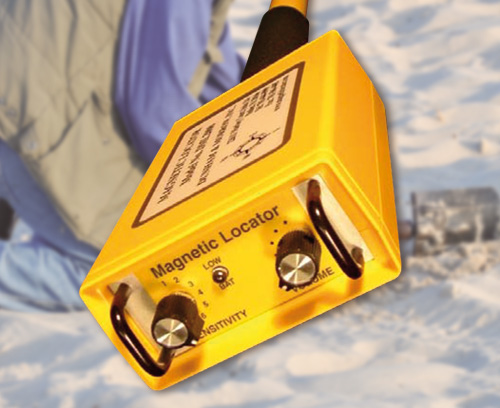 Magnetic metal detector