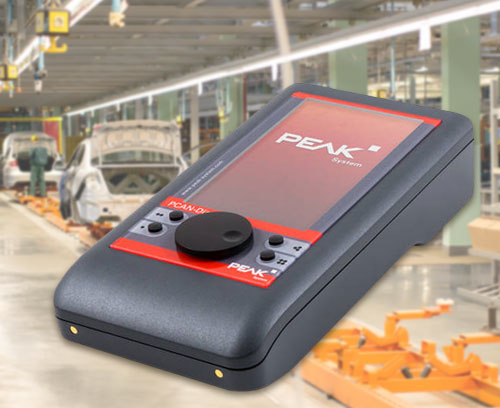 Mobile diagnostic device for CAN and CAN FD buses