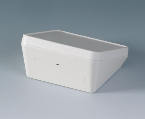 Version II - with a snap-on cover for flush covering of the recessed interface area