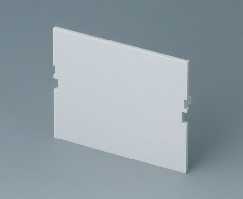 B6602180 Front panel, 3 modules, Vers. VI