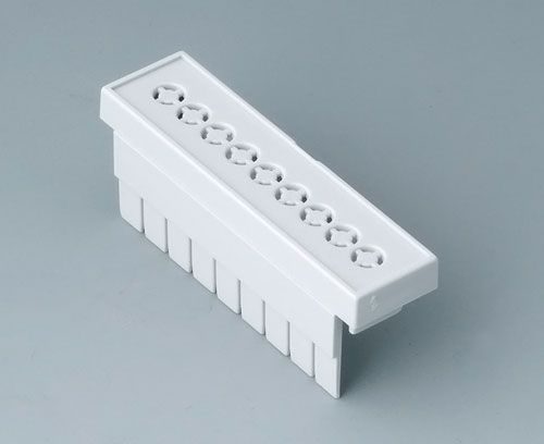 B6802112 Terminal guards, perforated, 5.08