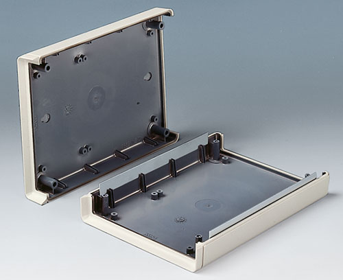 EMC: Shell-Type Case with aluminium metalisation