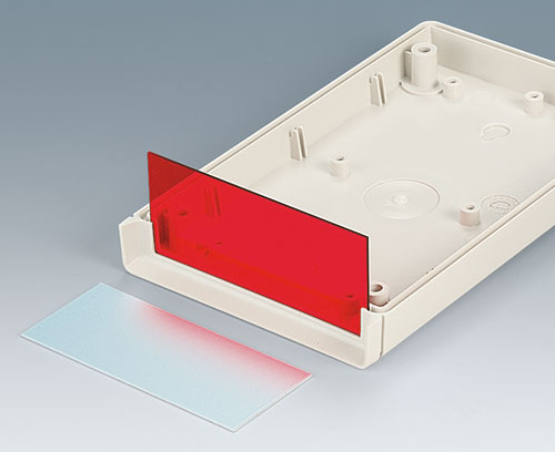 Panels in aluminium or PMMA plexiglass
