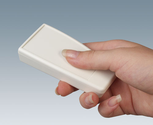 Contoured handheld enclosures - great to hold