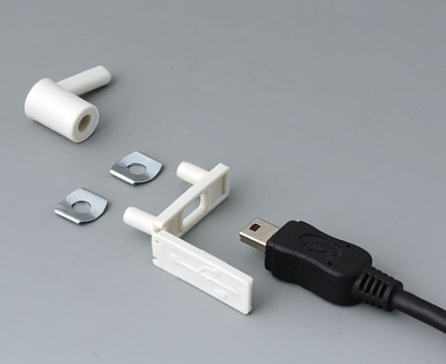 Cover for closing a USB interface Mini