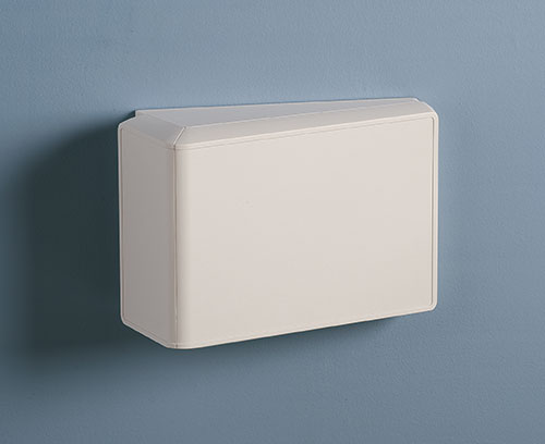 Wall mounted with operating panel horizontally