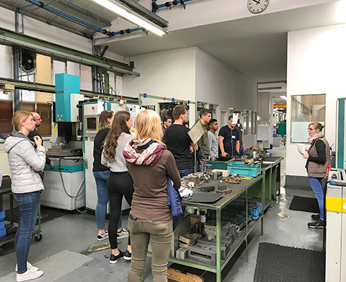 OKW Trainee Welcome Day: on a visit to FFB formenbau