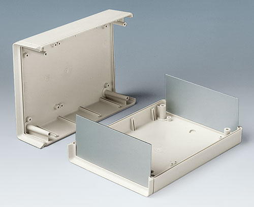 SHELL-TYPE CASE O (open front, open rear)