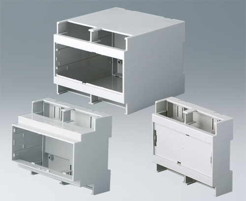 RAILTEC C without ventilation slots, 2 sides open