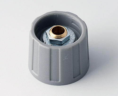 A2520068 ROUND KNOB 20, without line