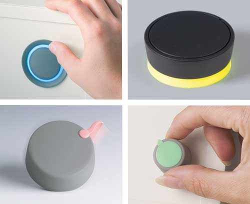 Botones giratorios