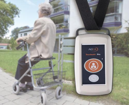 Émetteur radio pour système d'appel d'urgence patient