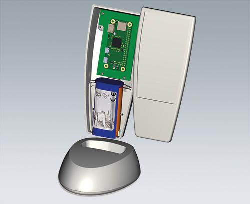 boitier SMART-CASE avec pack de pile rechargeable