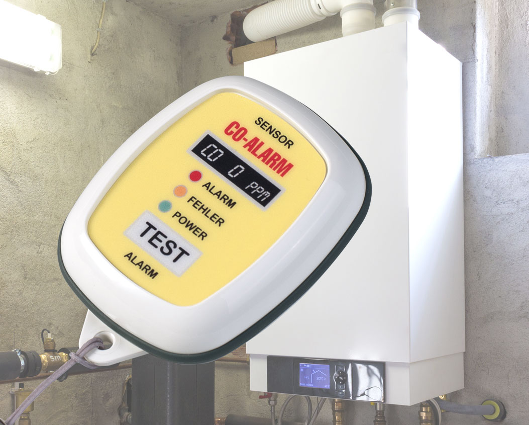 Appareil d'alarme de gaz CO avec Body-Case