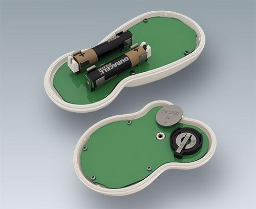 Clips pour piles rondes AA et AAA et pile bouton an accessoire