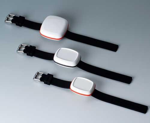 BODY-CASE avec bracelet en silicone, facile à nettoyer (accessoire)