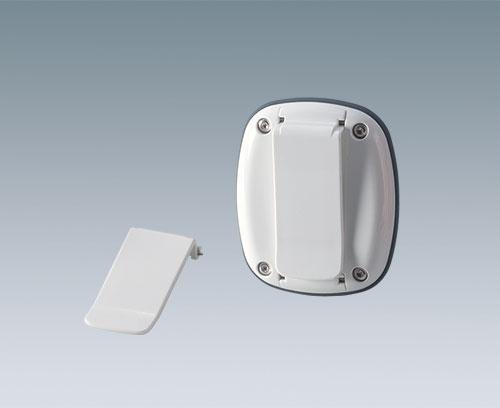 Clip de fixation en accessoire (voir kit de fixation)