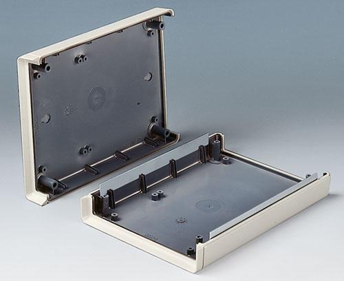 CEM : boitier coquille avec métallisation aluminium