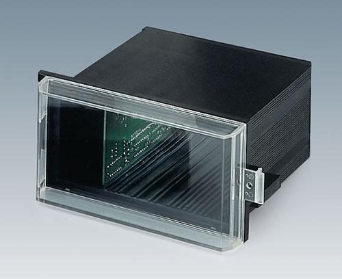 Couvercle transparent pour protéger les éléments d'affichage et de commande