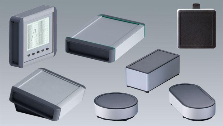 Boitiers en profilé d'aluminium OKW