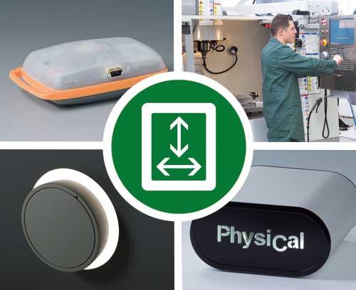 Boitiers et boutons de commande spéciaux