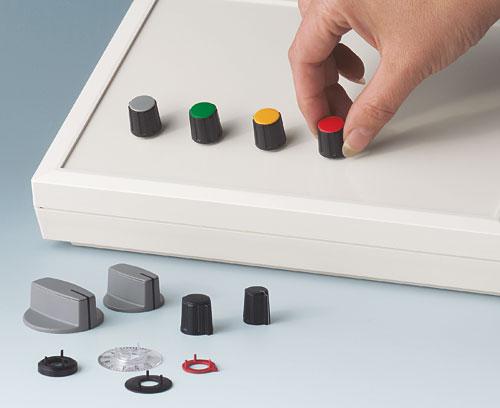 Multiples boutons de commande avec noix de serrage