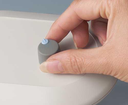 boutons de commande à enficher 6 - 4,6 mm