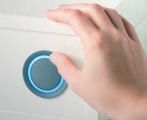 boutons de commande LED éclairage