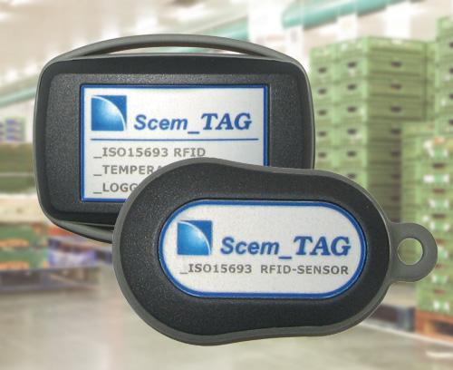 Capteur transpondeur et enregistreur de données RFID