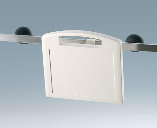Clip de fixation pour barrettes d'appareils conformes à la norme DIN EN ISO 19054 (accessoire)