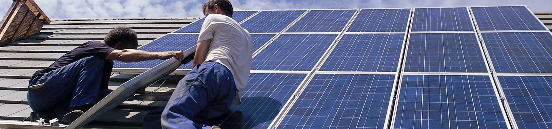 Fourniture d'énergie, solaire