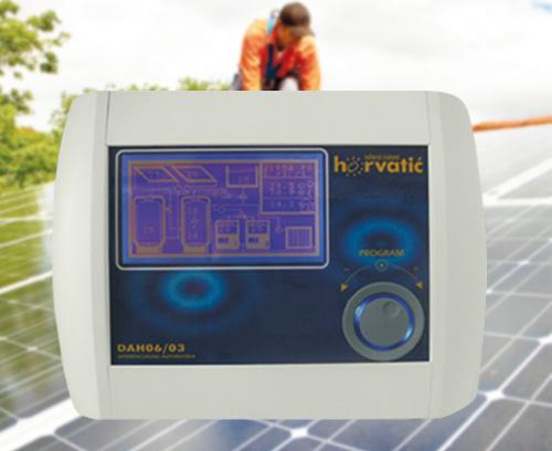 Commande d'une installation solaire photovoltaïque