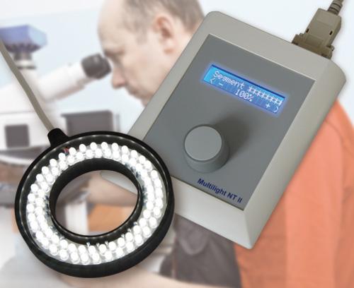 Commande pour éclairages à LED dans l'imagerie et la microscopie