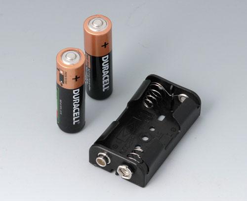 A9156001 Support de piles, 2 x AA