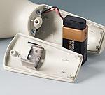 A9156003 Support de pile, 1 x 9 V (PP3)