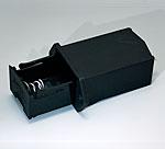 A9302510 Support de pile, 1 x 9 V (PP3)