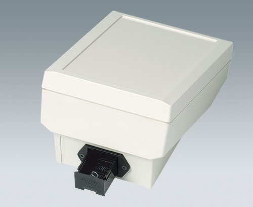 Boitier DATEC-TERMINAL avec support de pile 9 V