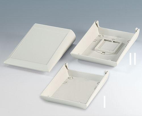 Partie inférieure avec ou sans couvercle de compartiment piles