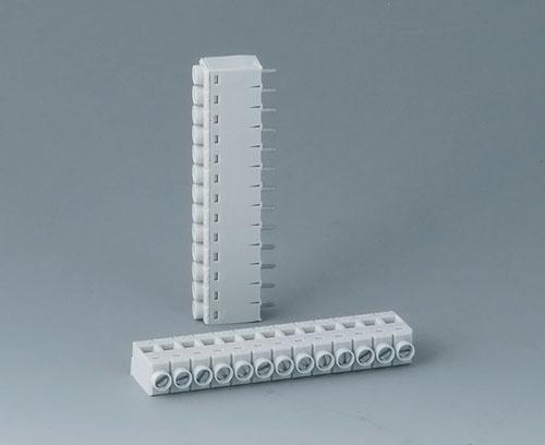 B6605111 Borne à circuit imprimé, grille 5,0
