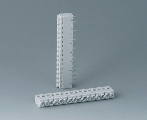 B6606111 Borne à circuit imprimé, grille 5,0