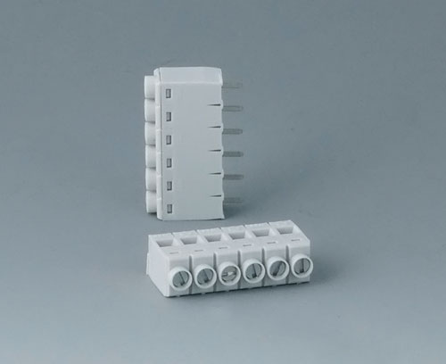 B6607111 Borne à circuit imprimé, grille 5,0