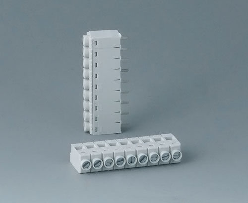 B6608111 Borne à circuit imprimé, grille 5,0