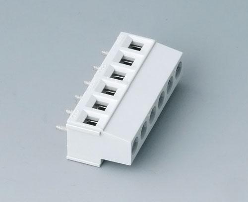 B6801650 Borne à circuit imprimé, grille 5,08