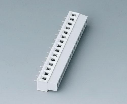 B6804650 Borne à circuit imprimé, grille 5,08