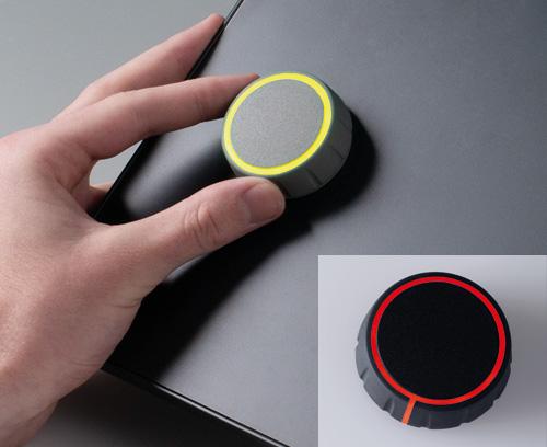 CONTROL-KNOBS avec éclairage LED optionnel